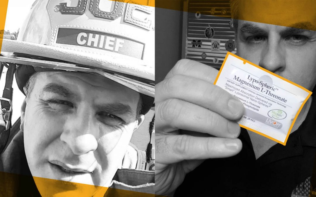 Chief Miller: How a Fire Chief Is Refusing to Let Stress + Bad Sleep Destroy His Health