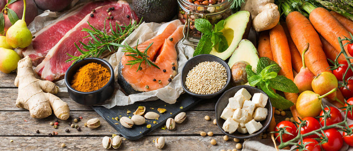 fresh, whole foods that contain immune system vitamins and minerals